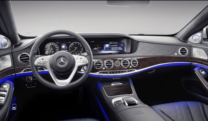 2021 Mercedes Benz Maybach S560 Interior
