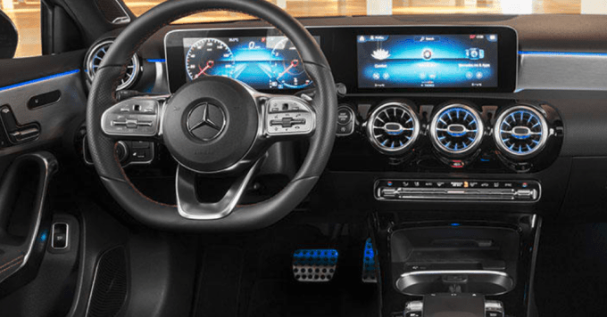 2019 Mercedes Benz A220 Interior