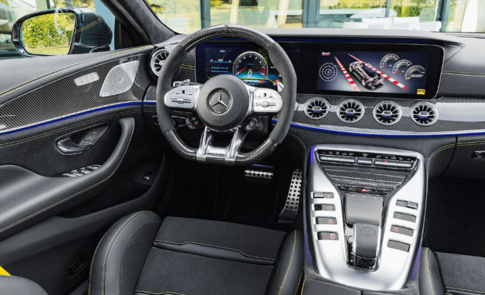 2019 Mercedes Benz AMG GT 63S Interior