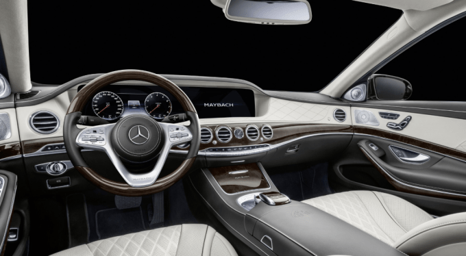2019 Mercedes Benz S600 Interior