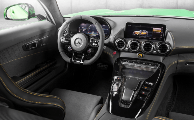 2020 Mercedes Benz AMG GT Coupe Interior