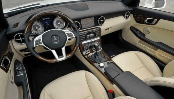 2019 Mercedes Benz SLK Interior