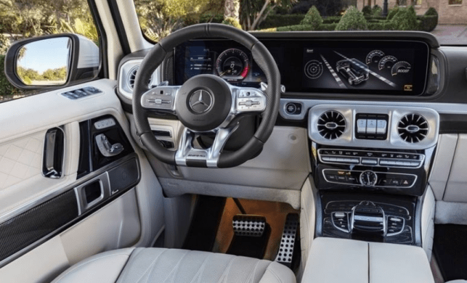 2019 Mercedes G Wagon Interior