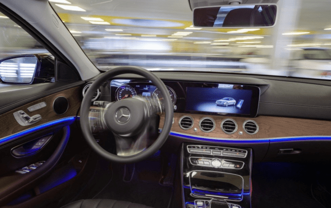 2021 Mercedes Benz GLC Class Interior
