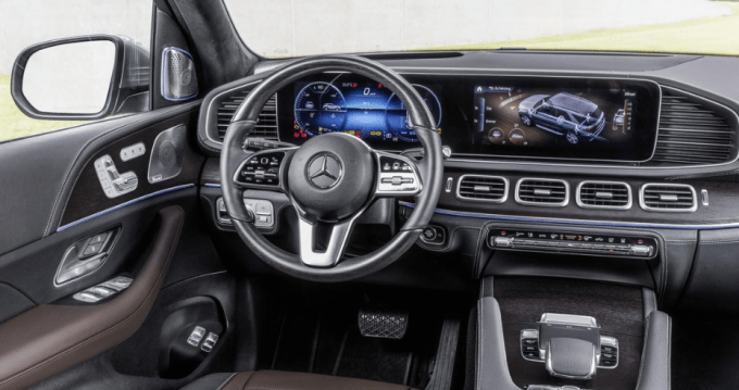 2020 Mercedes GLE 350 Interior