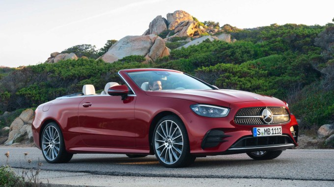 2021 Mercedes E-Class Coupe And Cabrio Debut With Sleek