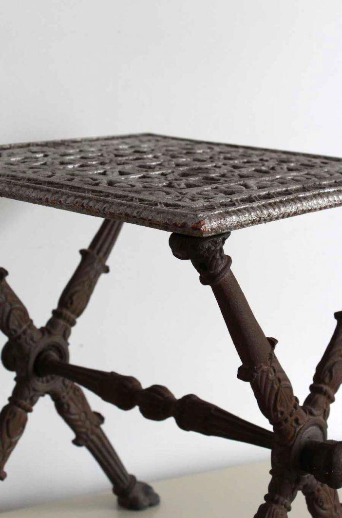 anticuario mesa de asiento