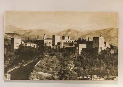 Fotografia desde el Albaicín. Granada