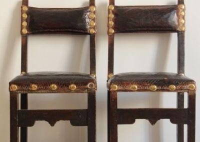 Par de sillas castellanas S.XVII
