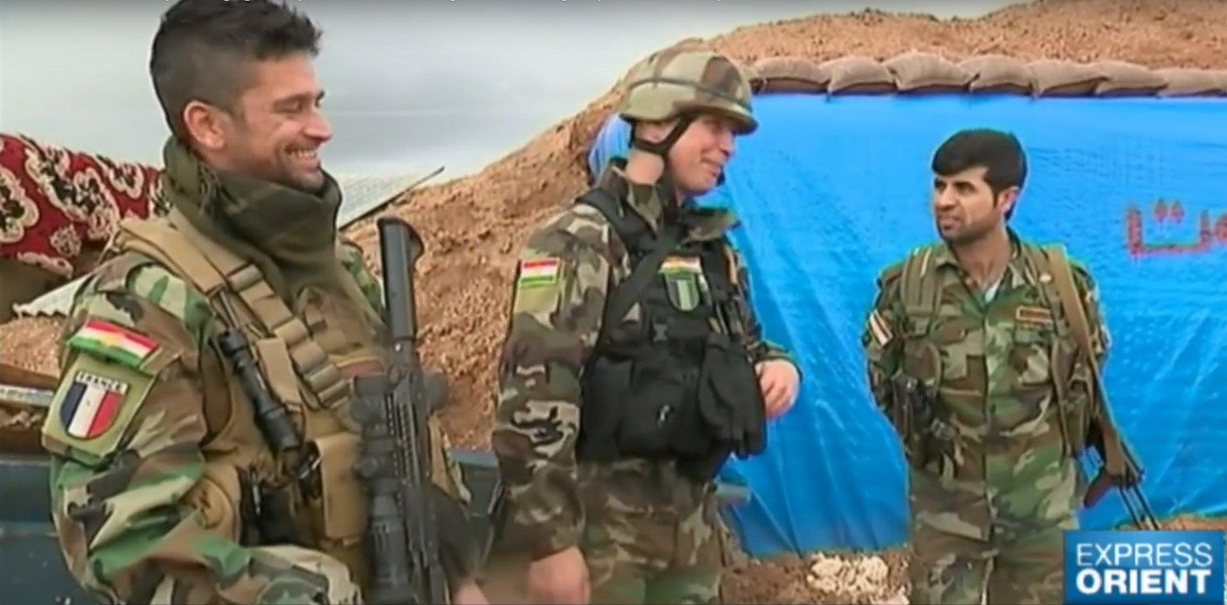 Ces français à l'assaut de Daesh