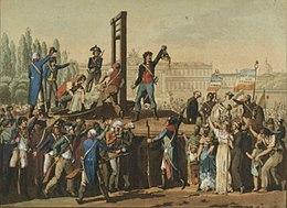 Le fiasco de la révolution française.