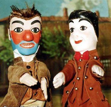 Guignol et Gnafron.