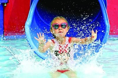 Enjoy at Big Splash at Anderson Dean Aquatic Center