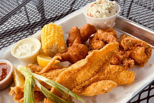 midlake marina food
