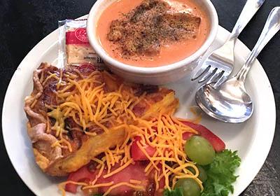 quiche&soup