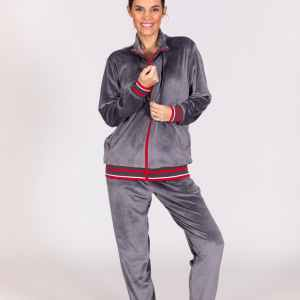 Chandal mujer gris