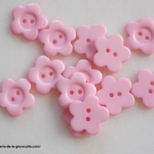 réf 05-a-22-016 bouton fleur rose