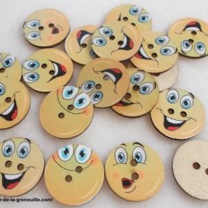 bouton smiley