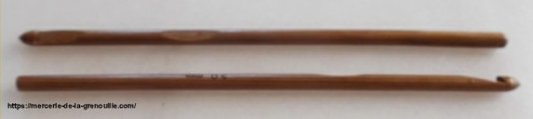 réf 02-02-55 crochet en bambou n 5,5