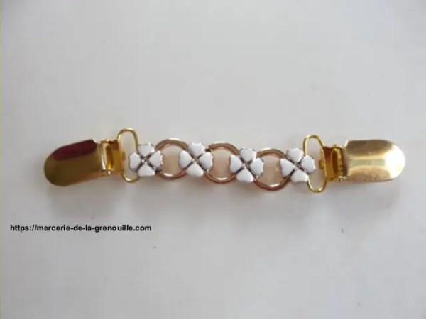 réf 05-m-0003 broche clip trèfle