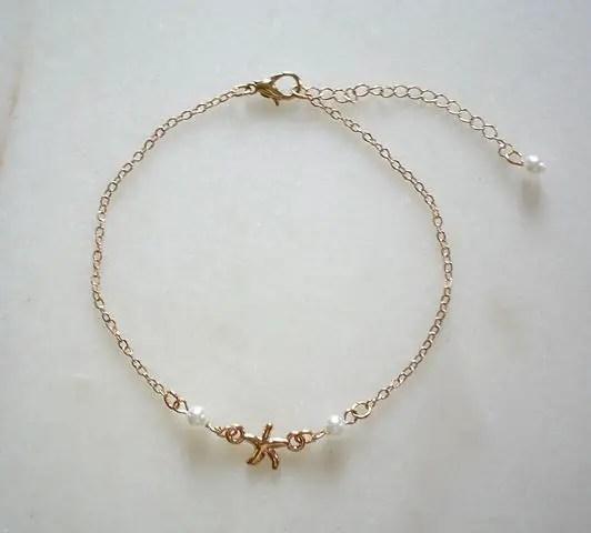 réf 12-b-0001 bracelet de cheville