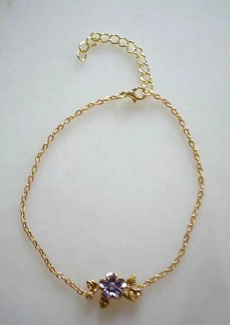 réf 12-b-0003 Bracelet de cheville