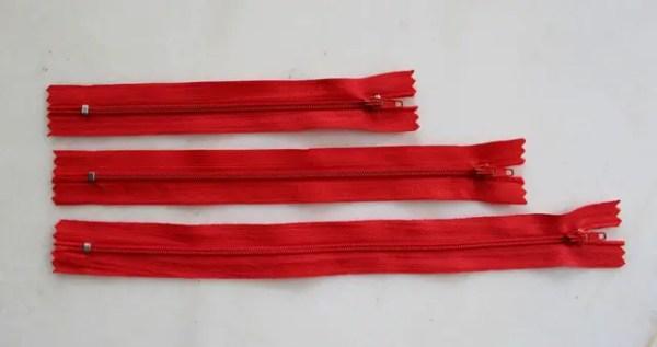 réf 07-p-15-001 Fermeture eclair 15 cm
