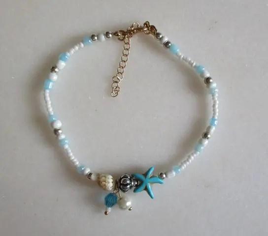 réf 12-b-0006 Bracelet de cheville