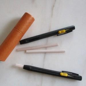Crayon et craie couture