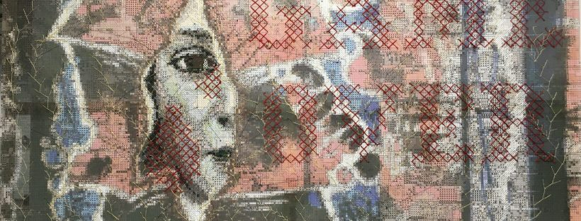 Some impressions of the Textile Art Space in INC-Art Fair Hamburg 2021