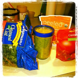 If you would have told me that I would ever be that girl, drinking blender spinach, I would have died.