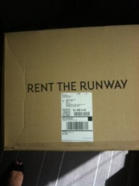 Rent the Runway Delivery.  At work.  I'm totally just your average everyday engineer.