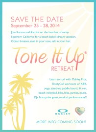 Tone It Up Retreat: a totally realistic and attainable goal.