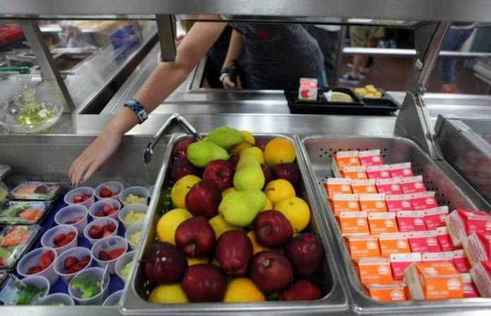 Hopewell Elementary Pilots Healthy Lunch Program
