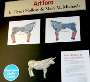 ArtToro's design proposal. Photo courtesy of Mary Galioto.
