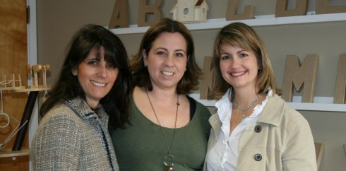 Creative Connections Founders Lisa Bass, Maria Santomauro and Kyle Wille