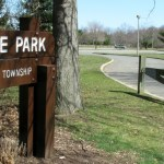 Entrance to Village Park from Yeger DR. in Lawrence, NJ March 19, 2011.