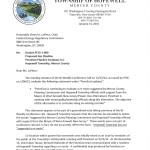 Copy of Hopewell Twp Mayor Lester's Letter to FERC re: Co-Location Communication