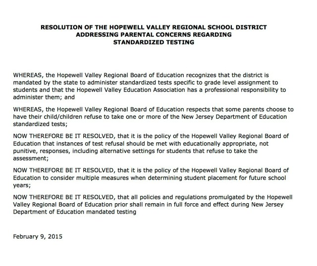 cropped HVRSD PARCC Resolution 2015