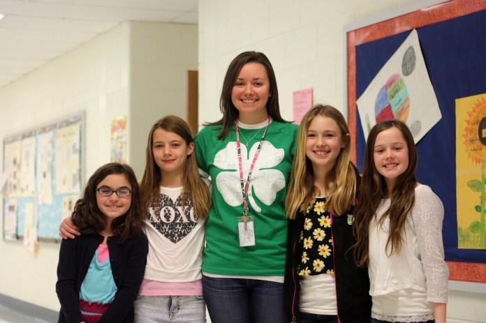 Stony Brook Elementary Fourth Grade Girls Write Bill Now Before State Senate