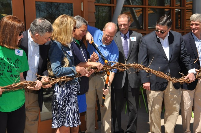 PHOTOS: Stony Brook-Millstone Watershed Cuts Ribbon for New Environmental Center