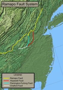 Hopewell Fault (red)