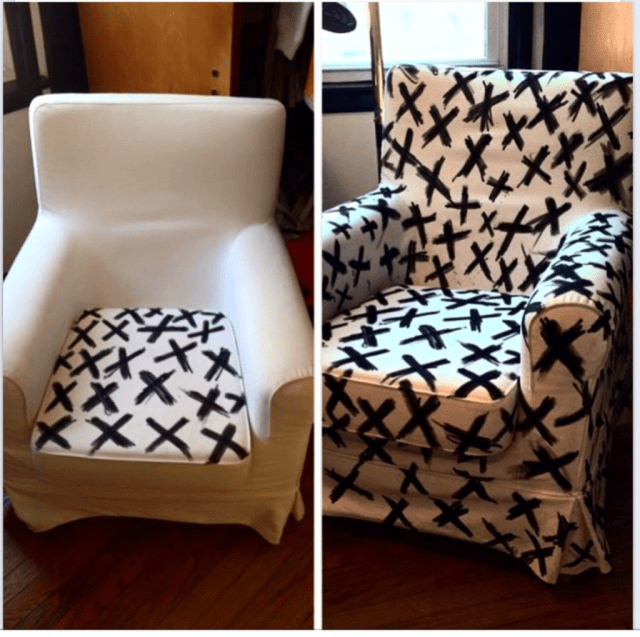 Langille's upcycled IKEA chair