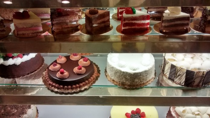 The Taste Chase Goes to Chez Alice Gourmet Cafe in Princeton on The Great Cake Quest