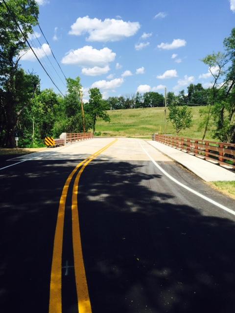 Pennington-Titusville Road Bridge Repairs Complete in Hopewell Township