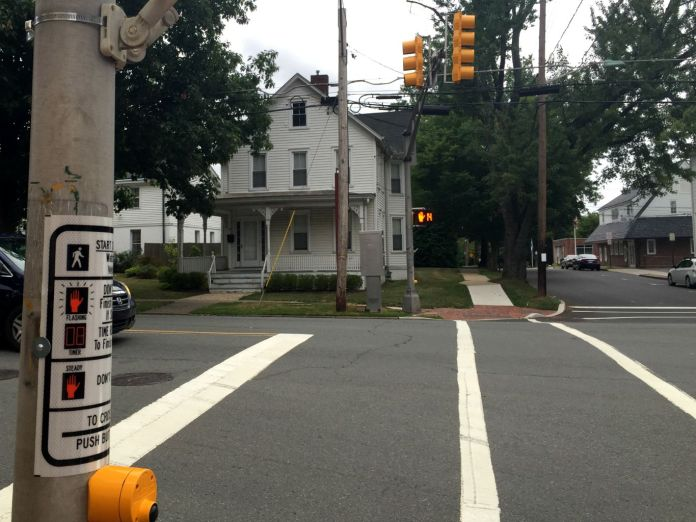 Pedestrian Safety Improvements Installed in Hopewell Borough