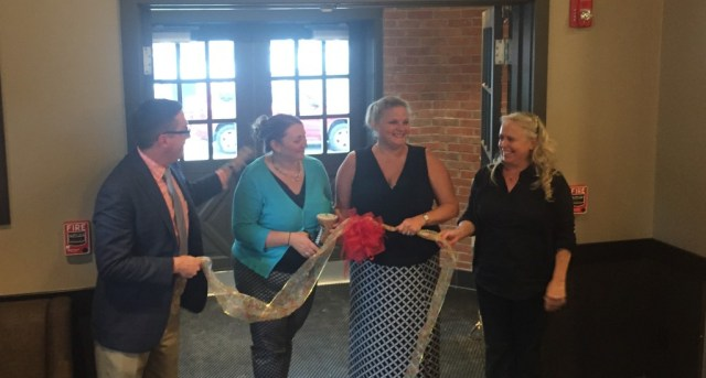 September 9, 2015 Starbucks Ribbon Cutting