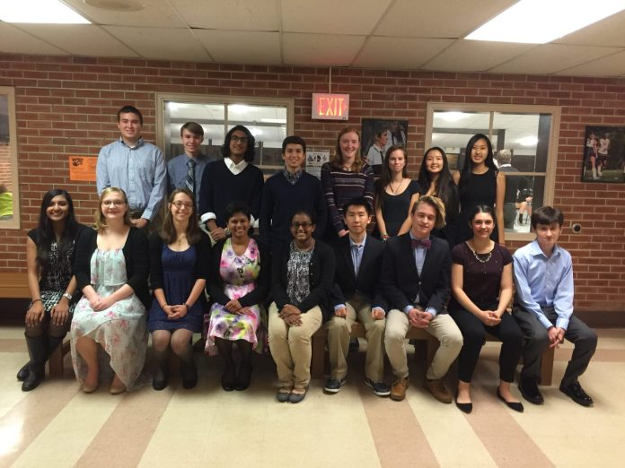 Hopewell Valley Regional School District Recognizes 20 National Merit Scholars and Semi Finalist