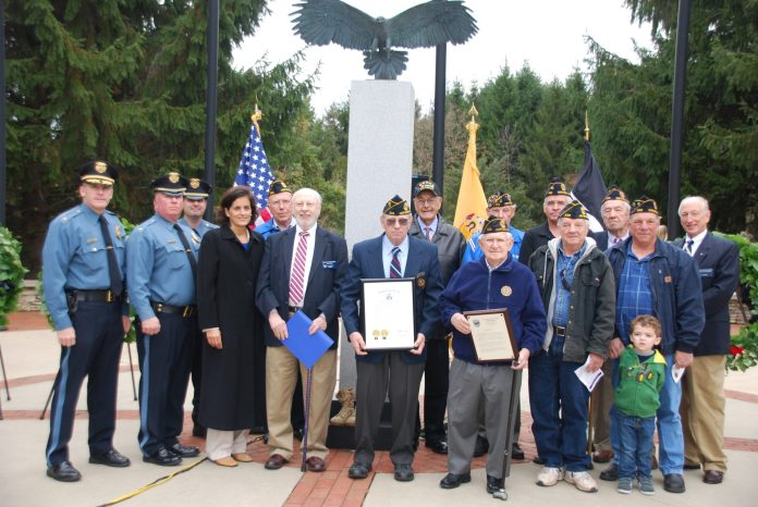(PHOTOS) Veterans Day at Alliger Park in Hopewell Township