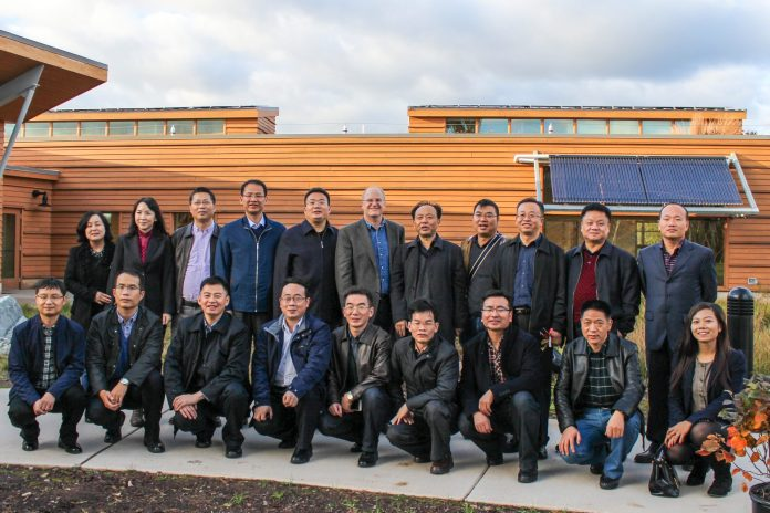 Chinese Ministry of Water Visits the Watershed Association